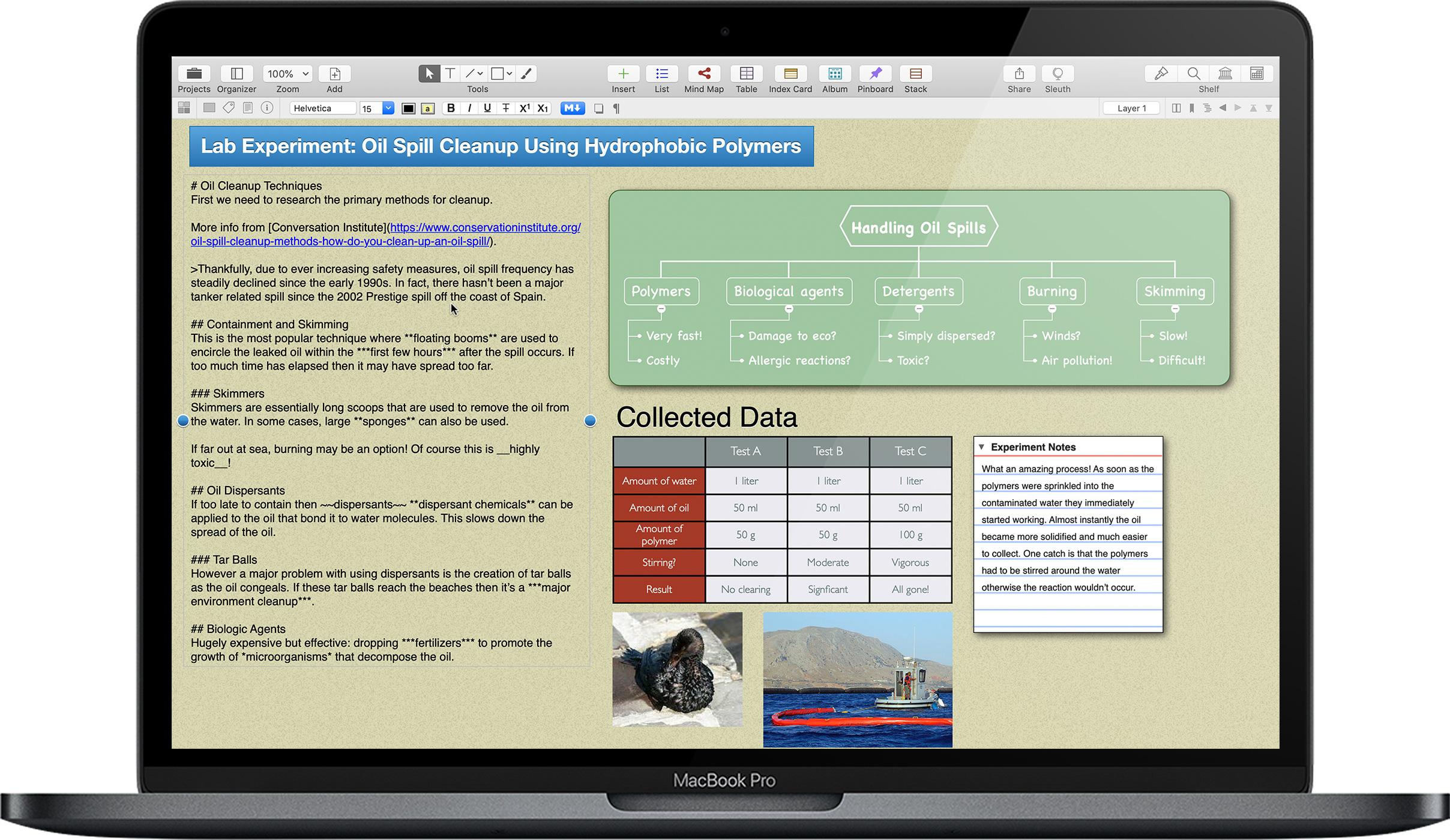 Curio 13.0 Mac 破解版 直观的笔记和思维导图应用-麦氪派